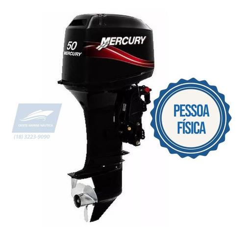 Motor De Popa Mercury 50 Eho 2t Eletrico/autolube 15' 0km