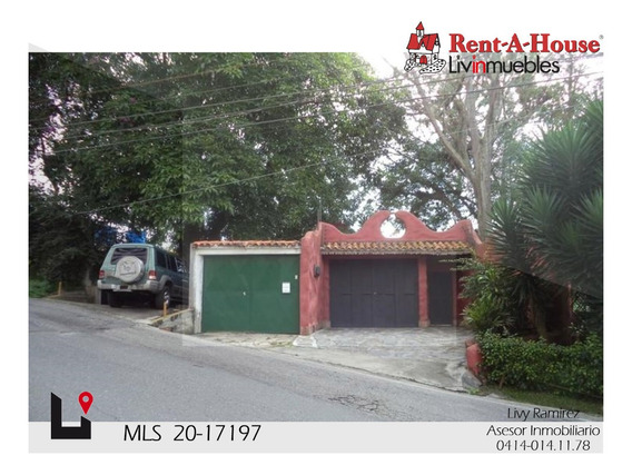 Casa En Venta. El Picacho Mls #20-17197