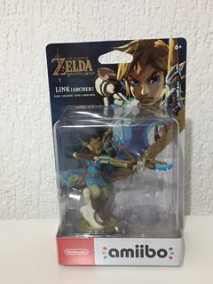 Amiibo Link Arquero Zelda Breath Of The Wild