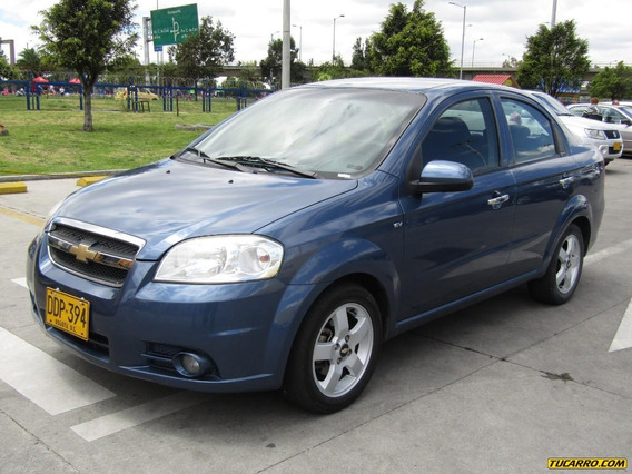 Chevrolet Aveo Emotion Ls Mt Aire Acondicionado
