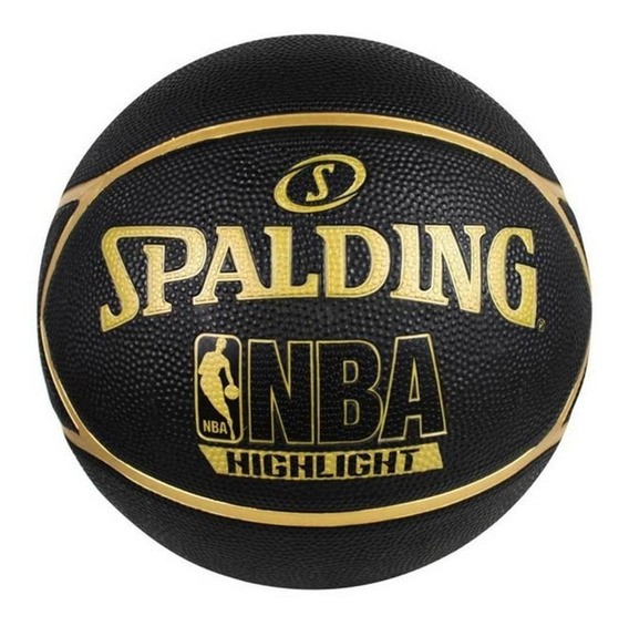 Bola Basquete Spalding Nba Highlight Outdoor Gold