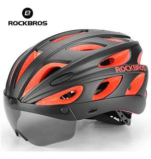 Capacete Rockbros Aero Bike Ciclismo Mtb Amarelo Ou Vermelho