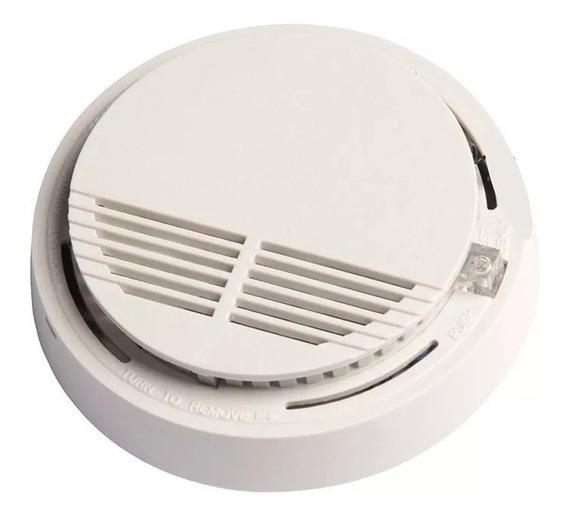 Alarma Sensor Detector De Humo Autónomo A Bateria Buzzer