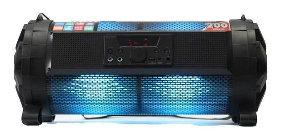 Caixa De Som Bluetooth Bazuca Xb650 Polyvox 200w