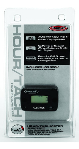 Hardline Products Hr-8061-2 Cronómetro / Horametro Para M