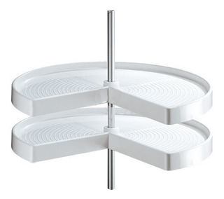 Esquinero Giratorio/ Sistema Lazy 3/4 28 Pg Blanco Cerrajes