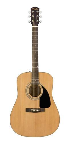 Imagen 1 de 2 de Guitarra acústica Fender FA-115 natural