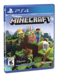 Minecraft Bedrock Edition Ps4 - Físico - Sellado - Nextgames