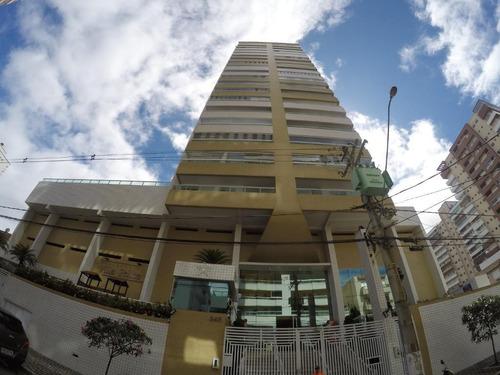 Apartamento À Venda, 80 M² Por R$ 348.000,00 - Vila Guilhermina - Praia Grande/sp - Ap2837