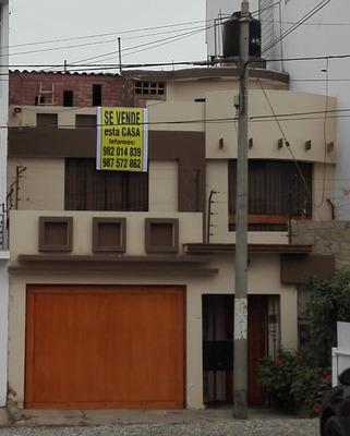 Casa De 3 Pisos Amplia Zona Residencial Unpaso De Real Plaza