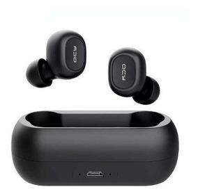 Fone Bluetooth 5.0 Qcy T1c Tws Com Case Carregador Original