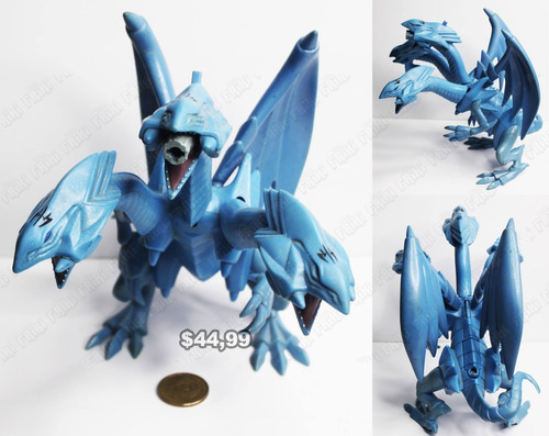 Figura Anime Yu-gi-oh Dragón De Ojos Azules (tienda Friki)