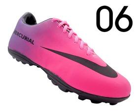 Chuteira Nike Mercurial Society - Grade Com 12 Pares