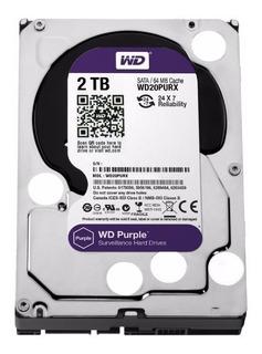 Disco Rigido 2 Tb - Disco Wd Purple Sistemas De Vigilancia