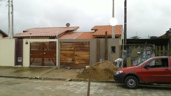 Casa Para Venda Em Itanhaém No Bairro Gaivota - Cas0090