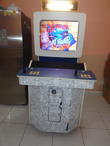 Gabinete Arcade Diverbras/fliperama Com Tela De 33 Polegadas