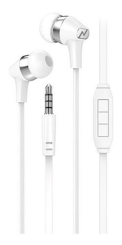 Imagen 1 de 5 de Auriculares In Ear Noga Celulares Manos Libres Cable Flat
