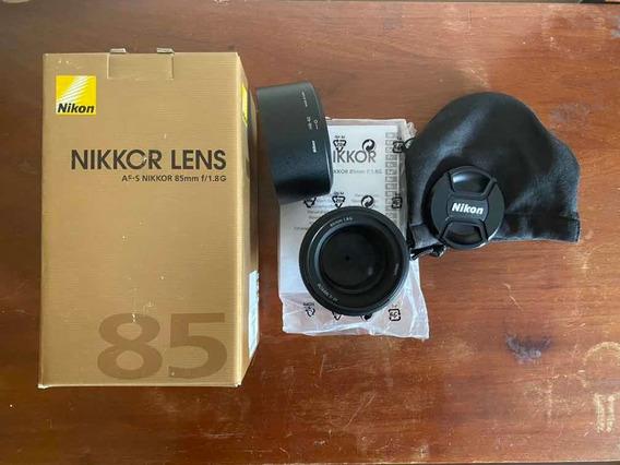 Lente Nikon 85mm F/1.8g