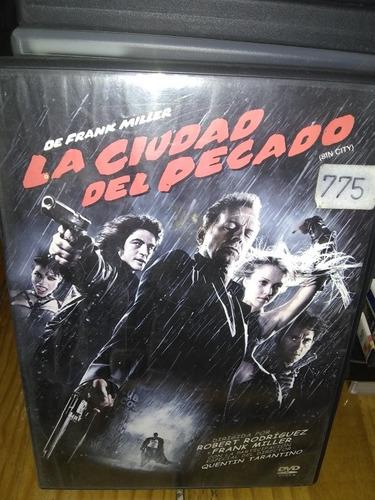 Película Original Sin City La Ciudad Del Pecado