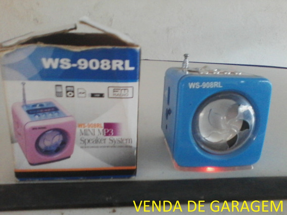 Mini Mp3 ,pen Drive, Rádio Fm.speaker System Digital Stereo!