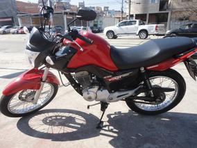 Honda Cg 150 Fan Esdi 2014 Vermelha 7500,00 Aceito Troca