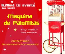 Renta De Maquina De Palomitas Y Algodones De Azúcar