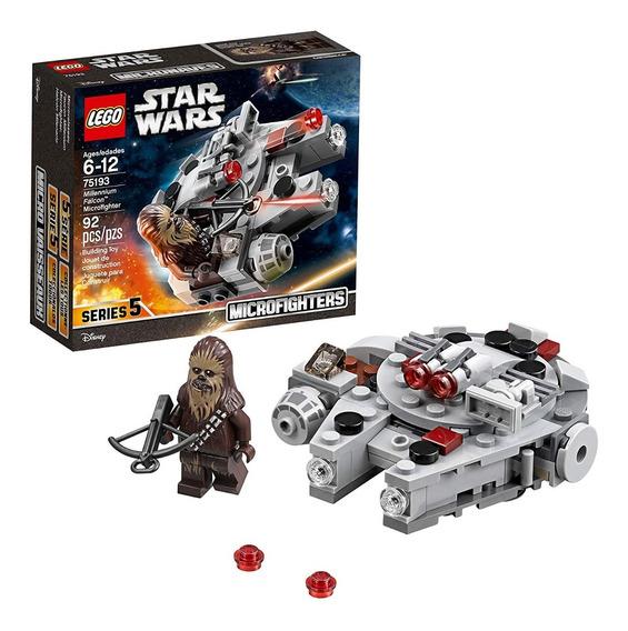 Lego Star Wars Halcón Milenario 92 Piezas