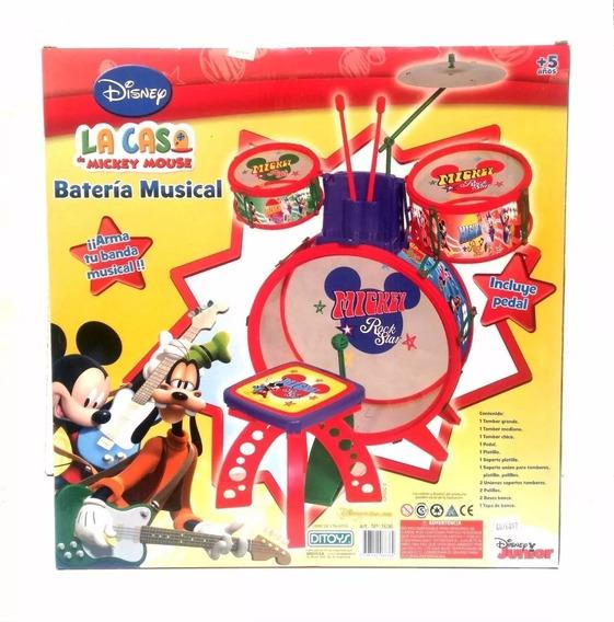 Batería Tu Banda Musical Ditoys Mickey Mouse Disney