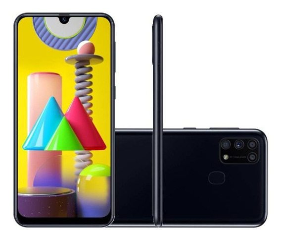 Celular Samsung Galaxy M31 Tela Infinita De 6.4 128gb 6gb Ra
