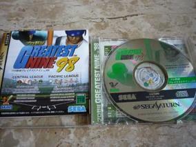 Jogo Greatest Nine 98 - Saturno Jap