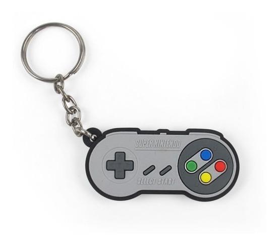 Chaveiro De Borracha Cut Controle Super Nintendo