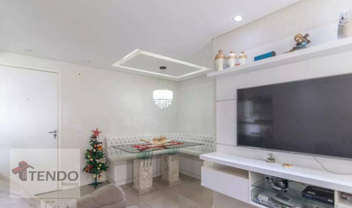 Imagem 1 de 15 de Imob01 - Apartamento 48 M² - Venda - 2 Dormitórios - Vila Homero Thon - Santo André/sp - Ap2237