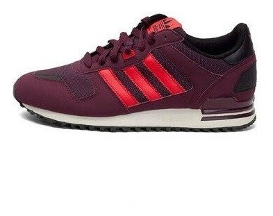 Tenis adidas Originals Zx700 Burgundy/maroon/red Nasotafi2