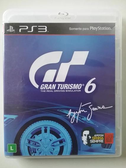 Gran Turismo 6 Ps3 Mídia Física Original Dublado Br Perfeito