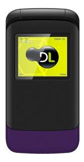 Celular Flip Dl Yc230 2chips Câmera Bateria Longa Duração Nf