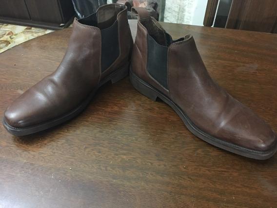 Zapatos Botas Cuero Hombre Briganti