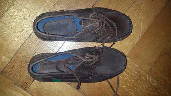 Zapato Colegial Escolar Kickers E N°28-27