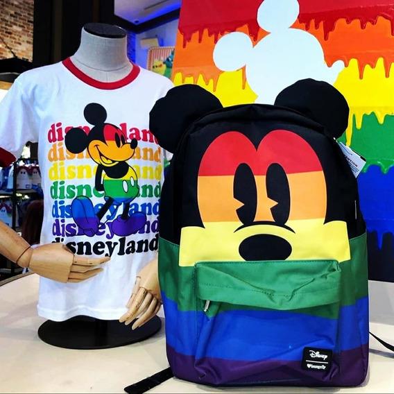 Disney Loungefly Rainbow Bellísima Y Única