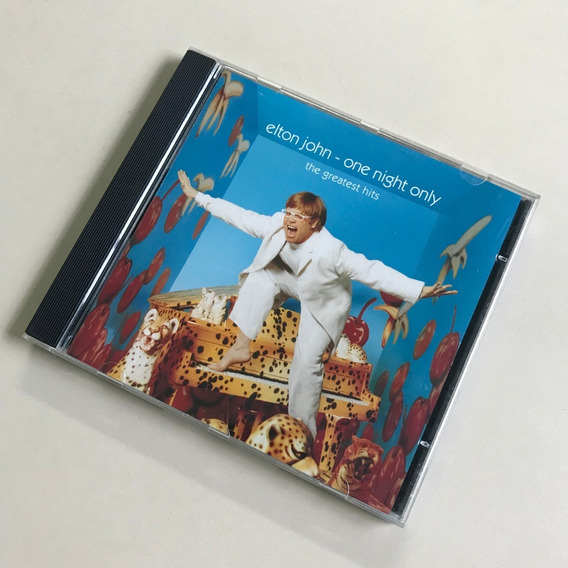 Cd Elton John - One Night Only - The Greatest Hits