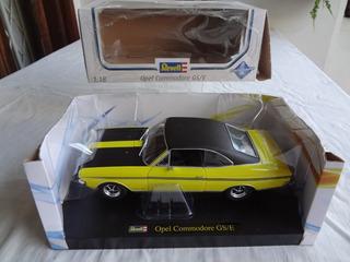 Miniatura Gm Opel Rekord Commodore 1/18 Revell Opala Ss