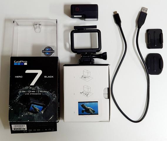 Câmera Digital Gopro Hero 7 Black 12 Mp Wi Fi 4k Original