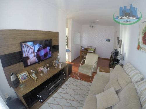 Apartamento Residencial À Venda, Jardim São Judas Tadeu, Guarulhos. - Ap0579