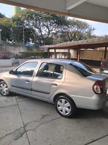 Renault Clio Sedan 2008 1.0 16v Authentique Hi-flex 4p