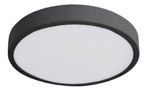 Luminario Lampara Sobreponer Techo Led Tl-2808.n40 Illux