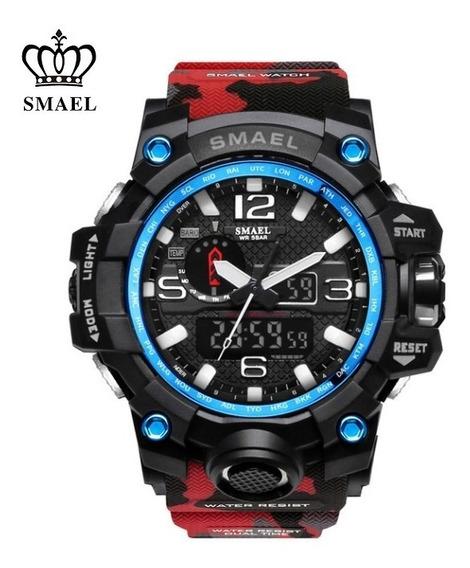 Reloj Smael Camuflado Original Modelo Deportivo