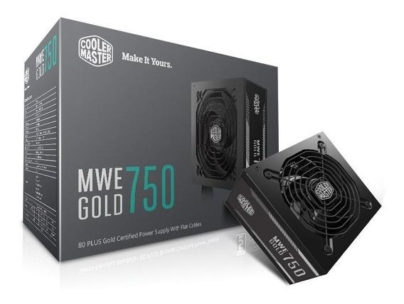 Fonte Cooler Master Mwe 750w 80 Plus Gold Mpy-7501-acaag-wo