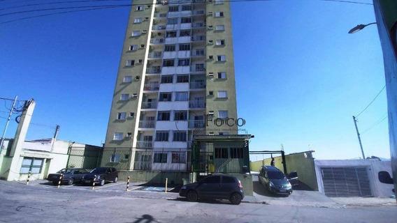 Apartamento Com 2 Dormitórios À Venda, 49 M² Por R$ 212.000 - Água Chata - Guarulhos/sp - Ap1019