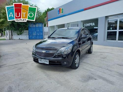 Chevrolet Agile Ltz 2013 Negro 5 Puertas