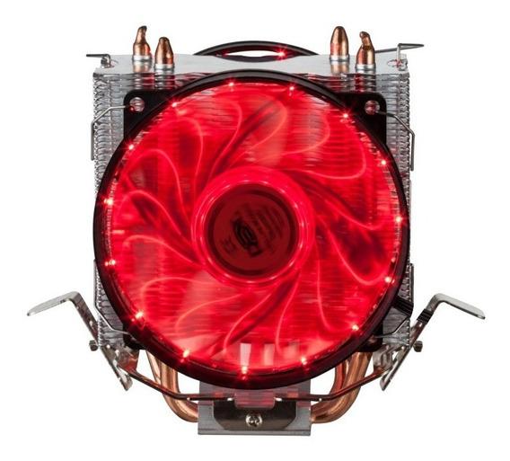 Cooler Duplo Fan Cpu Intel Amd 775 1150 1151 I7 Am3 Am2 Am4