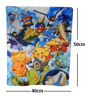 Pokemon Funda De Almohada Cojin Pokemones Pikachu